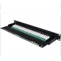 Wholesale RJ11 1U Cat3 32port Telephone Patch Panels 19Inch Rack Patch Panels Category 3 Patch Panel from china suppliers