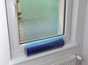 Wholesale Polyethylene Residue Free 60 Days LLDPE Window Glass Protection Film from china suppliers