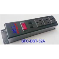 3 Socket Power Strip With USB Charger , Multi Function Multiple Power Outlet for sale