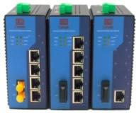 China 1000M Configurable 5 Port Industrial Ethernet Switch / Wall Mount Ethernet Switch on sale