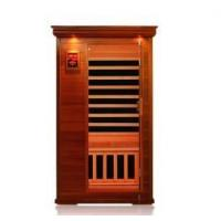 Wholesale 1 person canadian red cedar infrared sauna from china suppliers