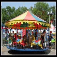 Popular playground simple merry go round carousel for sale for sale