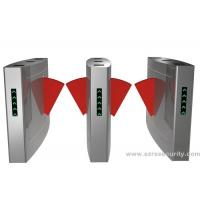 Quality Security Access Control Flap Barrier Gate Full Automatic For Station And Airport for sale