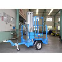 Quality Single Mast Truck Mounted Aerial Lift Hydraulic Aluminium Alloy Aerial Work Platform for sale