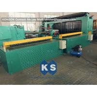 Wholesale 5kw Automatic Wrapped Edge Gabion Machine Edge Wrapping Machine 4 Meter from china suppliers