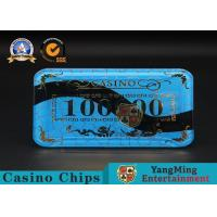 Gambling Products Plastic Bargaining Chip Shape For Entertainment Club for sale