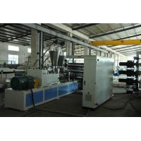 China Conical PVC Sheet Extrusion Line Compact Structure Economic Energy Consumption on sale