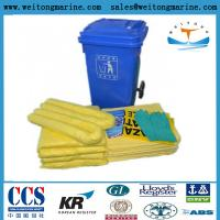 China Chemical absorbent Hazardous Clean Up Sorbent Spill Kits on sale