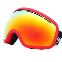 Wholesale UV Protection TPU Frame Anti Fog Snow Goggles , Ski Goggle for Adults from china suppliers