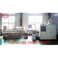 China 110mm-250mm vacuum cooling HDPE plastic double wall corrugated pipe extrusion line factory price on sale