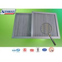 Wholesale Primary Pleated Panel Pre Filters Washable Air Purifier Filters Metal Mesh from china suppliers