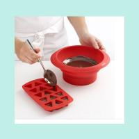 Wholesale triangle shape silicone chocolate mold ,food grade silicon cake molds from china suppliers