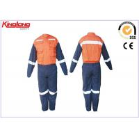 Buy cheap Reflective Safety Customize Engineering Coverall Uniforms Embroidery from wholesalers