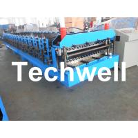 China Automatical Double Layer Roof Wall Panel Roll Forming Machine With 0.3 - 0.8mm Thickness on sale