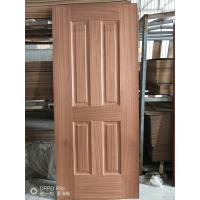 Wholesale Low Moisture Content Decorative Door Skins , Door Veneer Skins Natural Sapele Moulded from china suppliers
