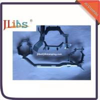 Wholesale Rolled Steel Pipe Clamp Fittings / Pipe Clamp Bracket For R588 With Epdm Black Rubber from china suppliers