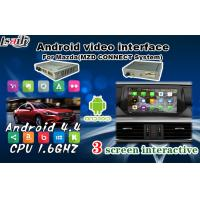 Buy cheap 1080P Mazda Android Navigation Box Support Wifi / Mirrorlink / Google Play Store from Wholesalers