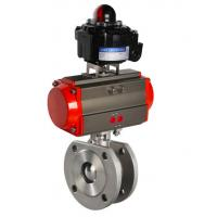 Wholesale pneumatic steam control ball valve actuated ball valve from china suppliers