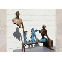 Wholesale Life Size Casting Finish Traveler Bronze Sculpture For Garden , Bruno Catalano Sculpture from china suppliers