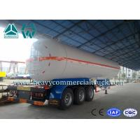 Wholesale White Carbon Steel Safety Lpg Transport Trailer With Air Spring Suspension from china suppliers