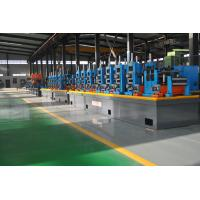 China Large Size Industrial Tube Mills , Friction Saw Cutting Square Tube Mill on sale