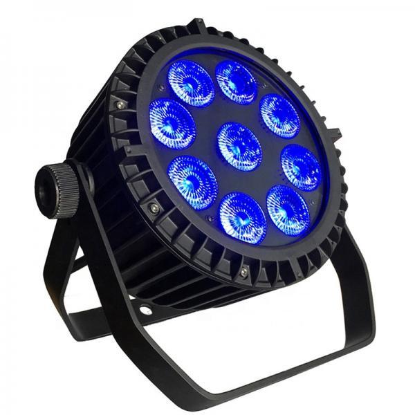 Quality 9*10W Waterproof LED Par Light / LED Par 64 Lights With DMX512 Control for sale