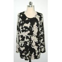 Wholesale Anti Shrink Floral Print Sweater Comfortable Pullover Big Flower Printing from china suppliers