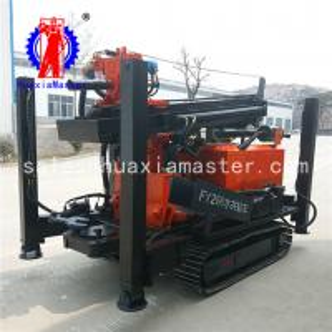 Quality FY-260 steel crawler pneumatic well drilling rig 260m crawler pneumatic drilling for sale