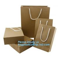 Buy cheap paper carrier bag luxury printed paper gift bag raw materials of brown paper bag from wholesalers