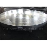 Wholesale OD1935mm Carbon Steel ASTM A105 Forged Disc Normalized Heat Treatment from china suppliers