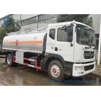 Wholesale 12m3 Stainless Steel Tanker Trailers , Small Fuel Tanker Truck 80 Km/H Max Speed from china suppliers