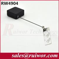 Wholesale Anti Theft Tether Plastic Pull Box Square Shaped With Sticky Metal Plate from china suppliers
