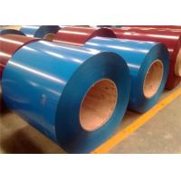 Wholesale DX51D Blue Colour Coated Coil / Galvanized Steel Plate 600~1250mm Width from china suppliers