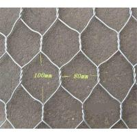 Wholesale 2x1x1 Flat Wire Mesh Galvanized Wire Gabion Baskets For Water Protecting Application from china suppliers