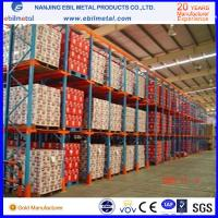 Wholesale Widely Used Metallic Drive in Pallet Racking High Quality / Pulling Through Rack from china suppliers