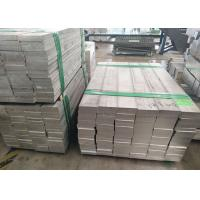 7075 T6 Standard Aluminum Extrusions Aluminum Flat Bar 5052 With Mold JIS H4000 Standard for sale