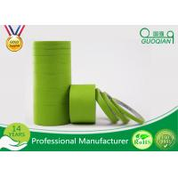 Wholesale High Temperature Green Masking Tape 1 Inch Textured Material No Glue Residue from china suppliers