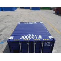 China 10ft Offshore Container Shipping Transportation Corten Steel Customized Color for sale