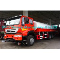 Wholesale Sinotruk SWZ 6*4 Water Tanker / Oil Tanker Truck with EURO III Emission from china suppliers