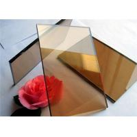 China 2 mm - 19mm Thickness Color Coated Glass Flat Structure For Industrial Buildings on sale