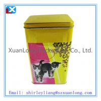 Wholesale Rectangle Tea Tin Box/ coffee tin box from china suppliers