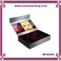 Wholesale high quality special custom cosmetic grey paper board gift box ME-MG008 from china suppliers
