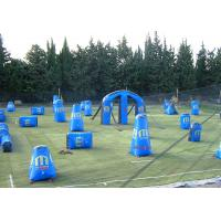 Wholesale Funny Inflatable Sports Games Blow Up Paintball Bunkers Rental EN14960 from china suppliers