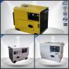 6.0 Kva Single Phase Silent Portable Generator  , Portable Silent Generator 4 Stroke for sale