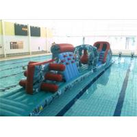 Wholesale Exciting Inflatable Obstacle Course Floating Inflatable Water Obstacle Course For Games from china suppliers