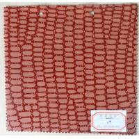 Wholesale Soft Handfeeling Abrasion Resistance Red Color Artificial Leather Cloth  from china suppliers