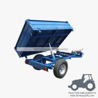 Wholesale 4TR3WT - 3-Way Dump Trailer 4Ton from china suppliers