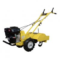 Buy cheap 6.5hp Manual Gasoline Power Tiller , Garden Hand Cultivator Customized Color from wholesalers