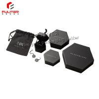 Wholesale Black jewelry box/multi-color bronzed jewelry gift box OEM/ODM packaging earrings/rings from china suppliers