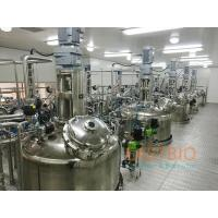 China Wetted Parts SS316L In Situ Sterilizable Fermenter Air Blow Fermenter System for sale